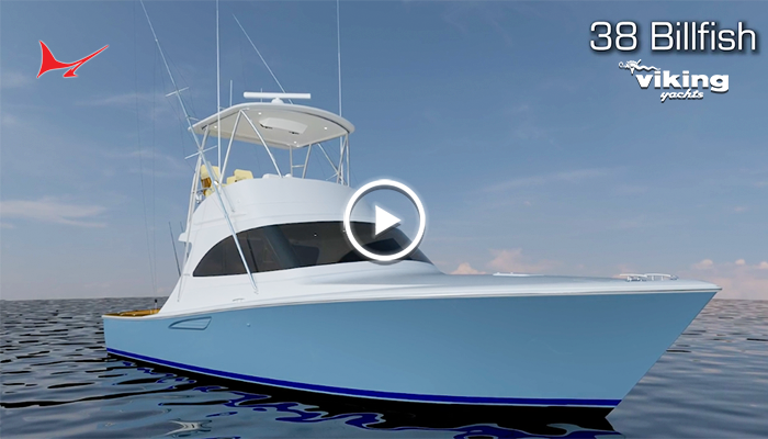 Anticipation Growing for the Viking 38 Billfish Unveiling