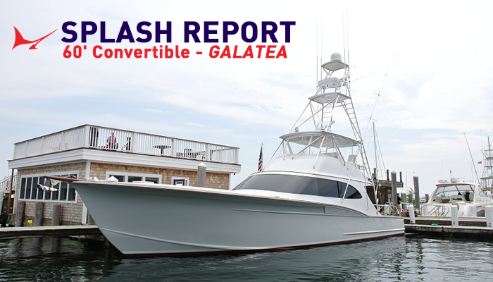 "InTheBite Splash Report: Ritchie Howell 60' Convertible - ""Galatea"""
