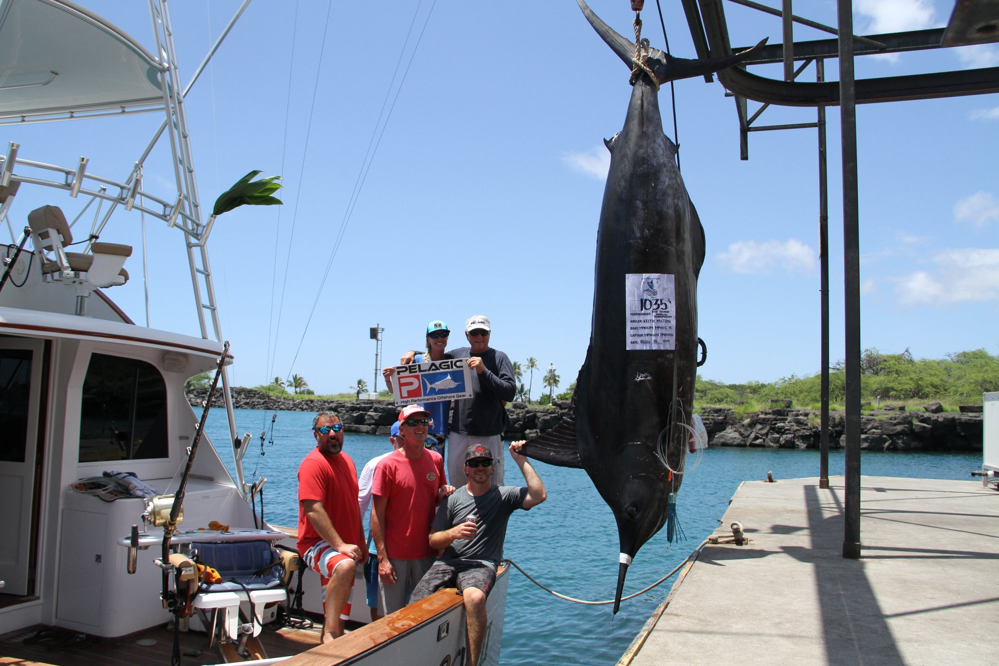 Kona Grander-- Big Island Marlin Tournament