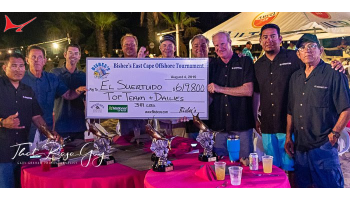 "Team ""El Suertudo"" Wins 20th Annual Bisbee's East Cape Offshore"