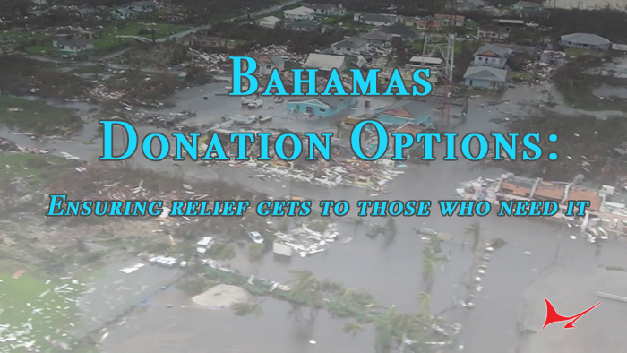 Bahamas Donation Options-- Location Drop Offs and More