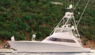 New American Custom Yachts 68' Mon Chari Wins Scrub Island BVI Tournament
