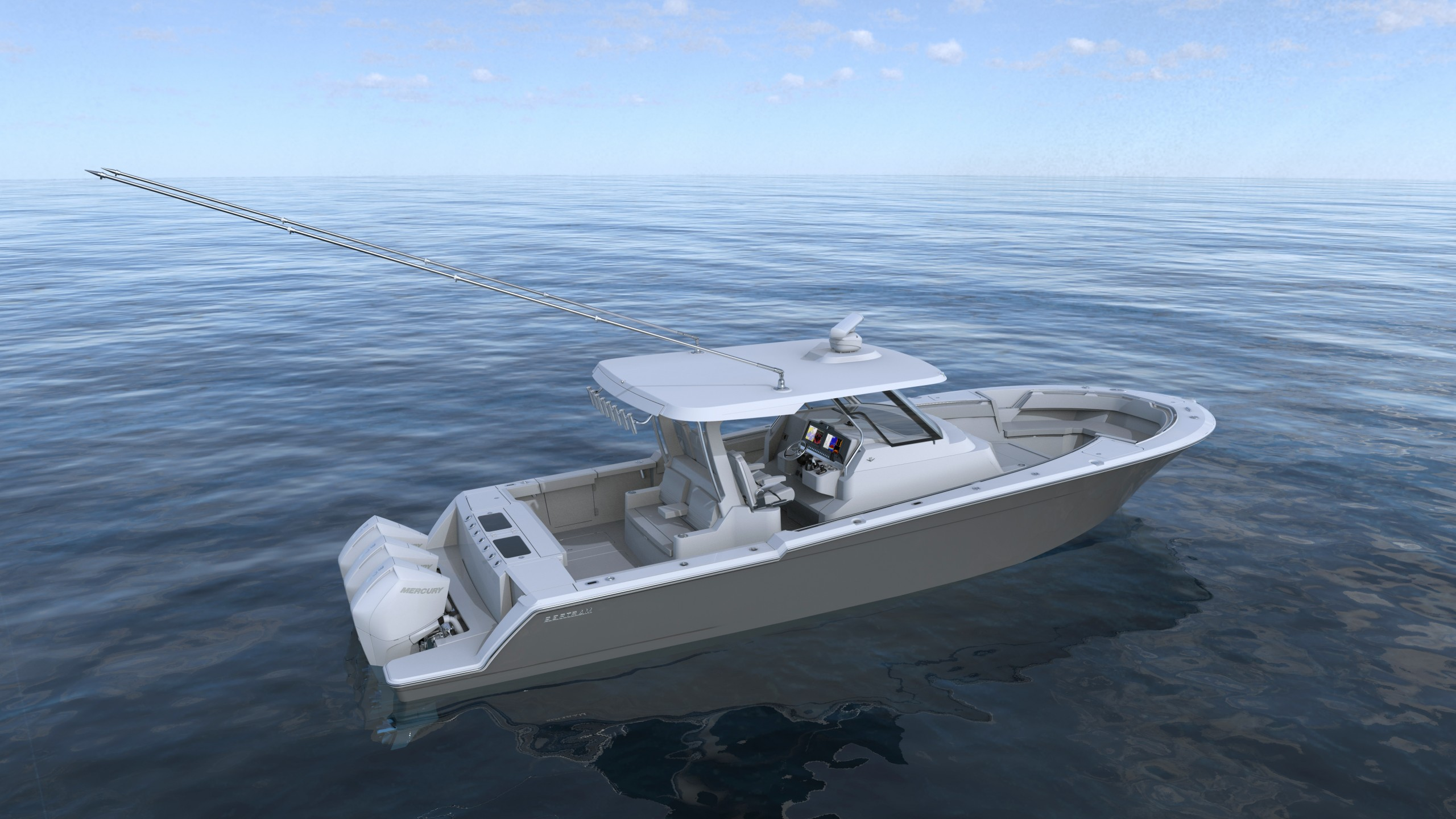 On The Drawing Board: 39 Center Console from Bertram