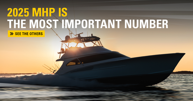 """New CAT C32B Marine Engine: The """"B"""" Means Better for Repowers"""