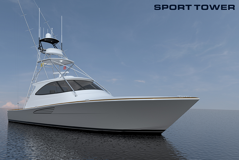 Viking Yachts Introduces the 54 Open, Sport Tower, Sport Coupe