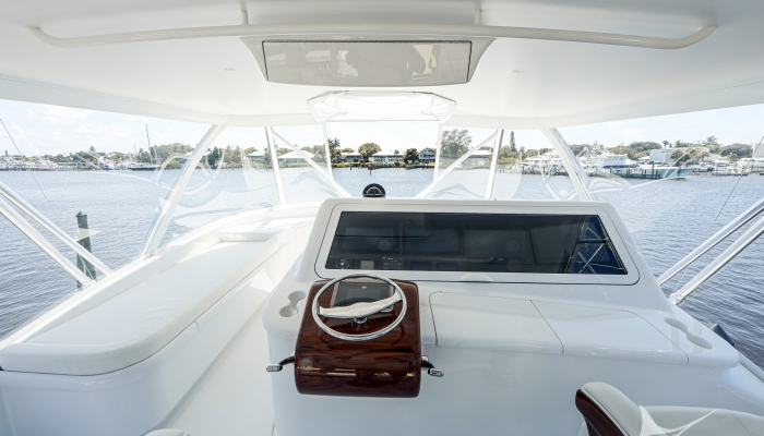 New 72' Bayliss Old Reliable—The Cockpit and Beyond