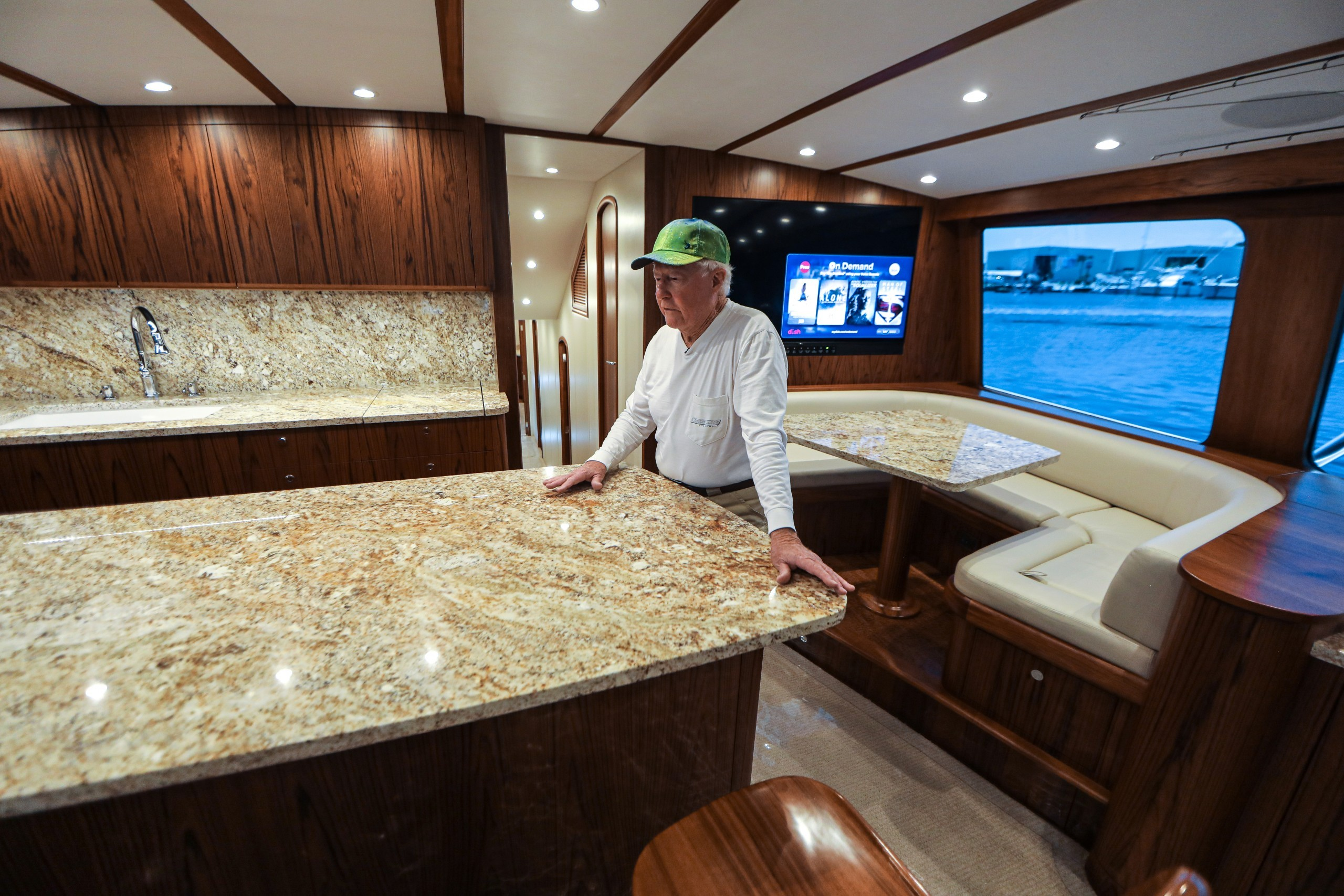 New 72' Bayliss Old Reliable—The Galley