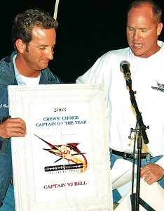 InTheBite Magazine salutes Capt. VJ Bell, the 2003 Captain of the Year!