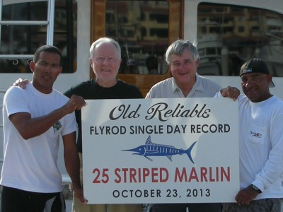 Old Reliable sets new Flyrod Single Day Record