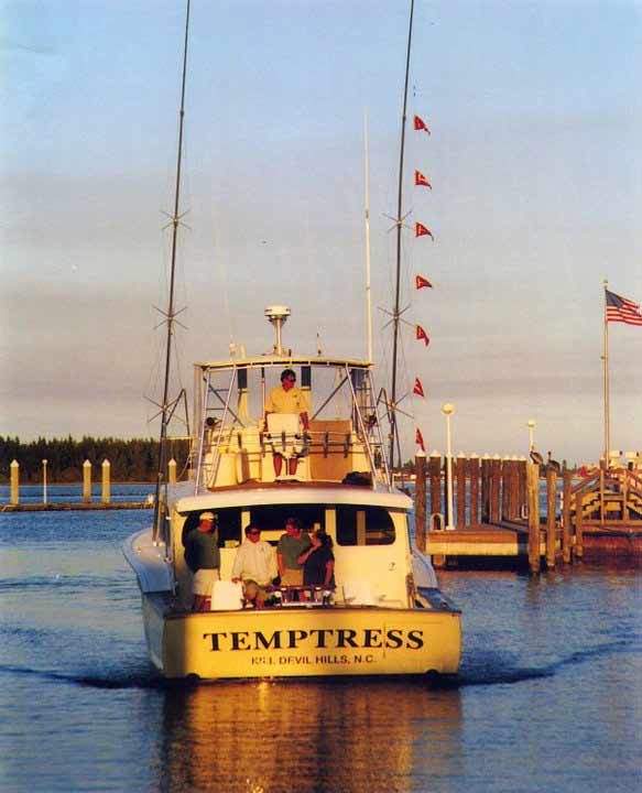 Perhaps one of Dillon's most successful mates was Capt. Chip Shafer, who ran the Temptress for many years before working for Nick Smith on the Old Reliable, where he's still setting records.