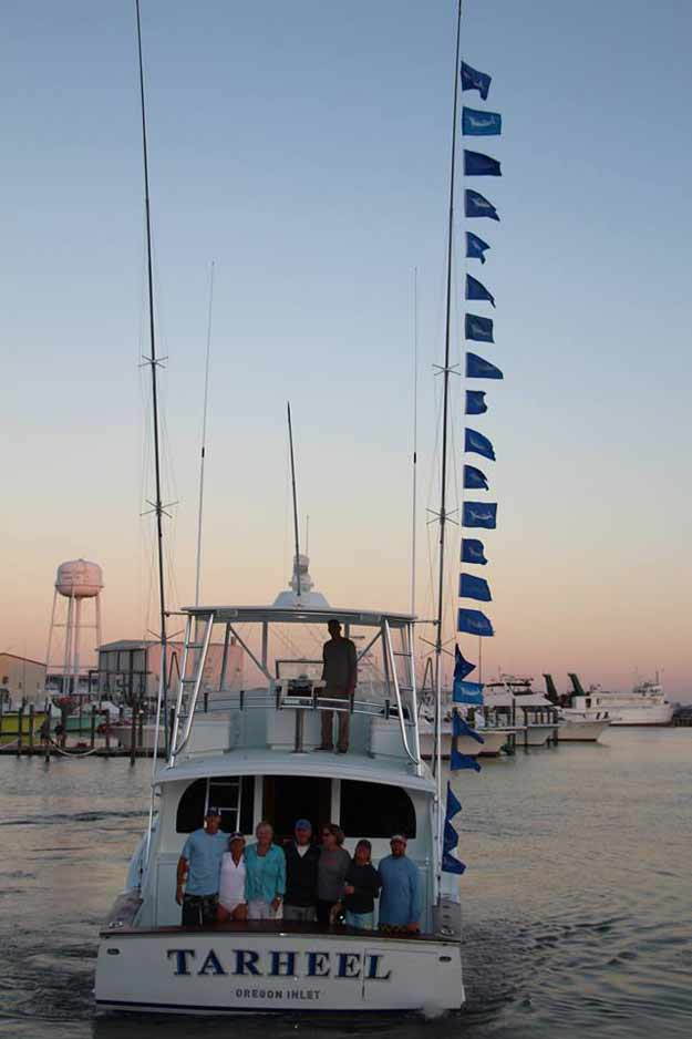 Bayliss learned many of his legendary white marlin fishing skills on the deck of the Early Bird. Those lessons would serve him well for many years at the helm of his own boat, Tarheel