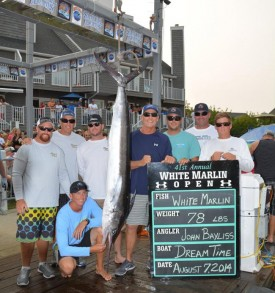 Dream Time leads WMO with 78 lb white