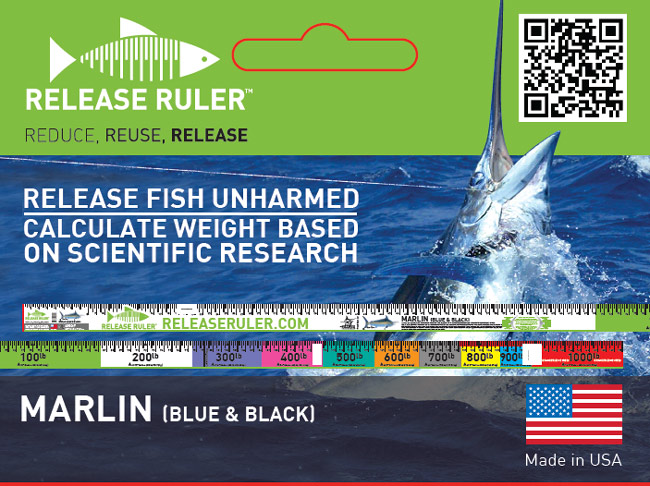 This tackle tip brought to you by Patent Pending Release Rulers. visit www.releaseruler.com to order yours today!