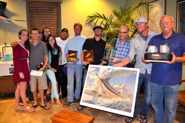 Dwyer Billfish 2014 winner
