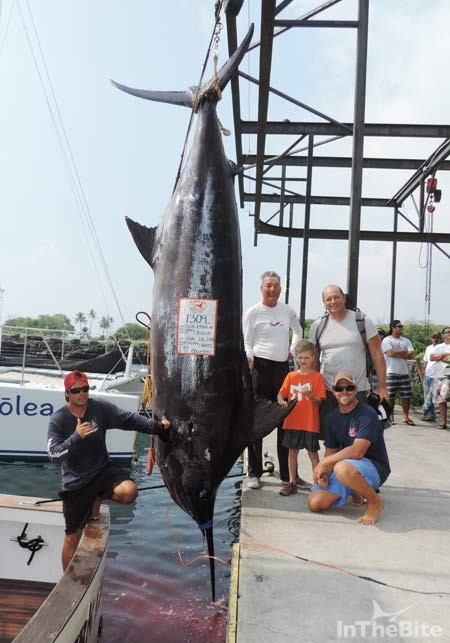 2015 Biggest Marlin Captain Of The Year Award Inthebite