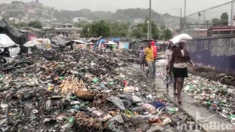 The aftermath of Hurricane Matthew in Haiti