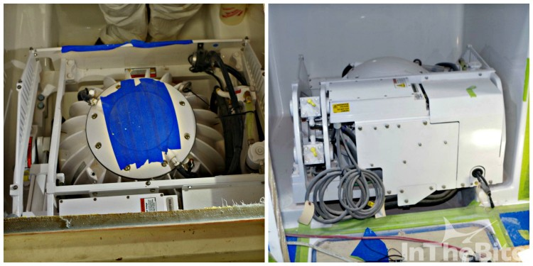 Seakeepers ready for installation at two Manteo, NC-based custom boat builders.