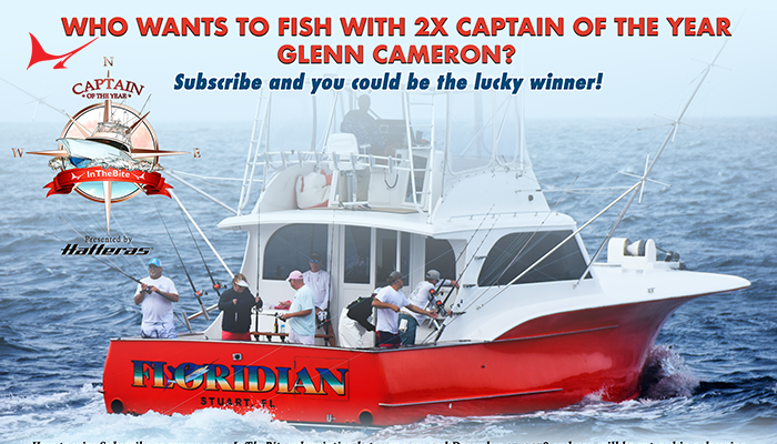 Subscriber Giveaway to Fish with Captain Glenn Cameron