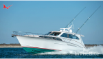 """Jarrett Bay Boatworks Launching a Throwback Design: 67′ Sport Yacht """"Privateer"""""""