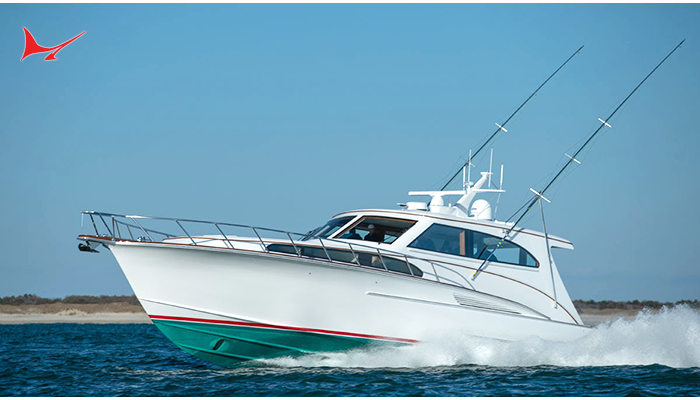 """Jarrett Bay Boatworks Launching a Throwback Design: 67' Sport Yacht """"Privateer"""""""