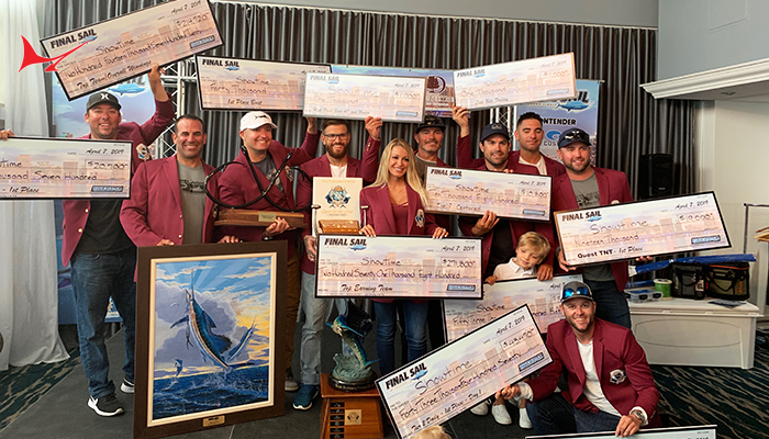 "Final Sail Results-- Team ""Showtime"" Wins the Burgundy Jacket"