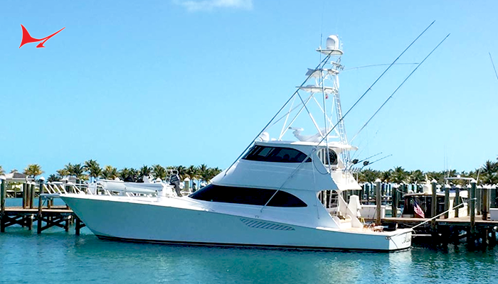 "Splash Report: Emeril Lagasse's 70 Viking ""Aldente"" For Sale"