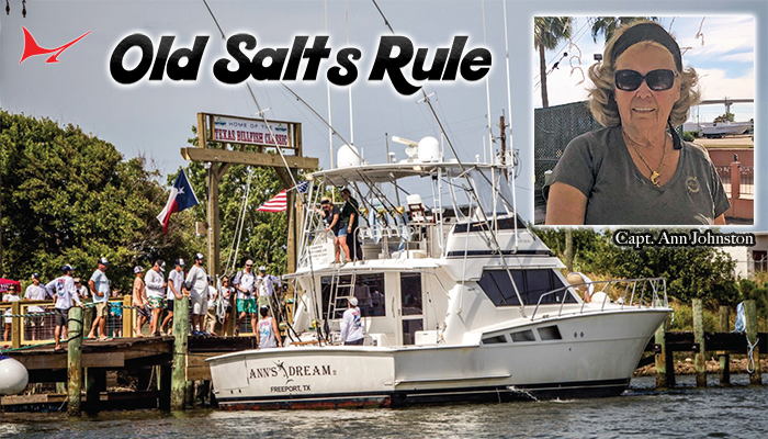 Old Salts Rule: Captain Ann Johnston