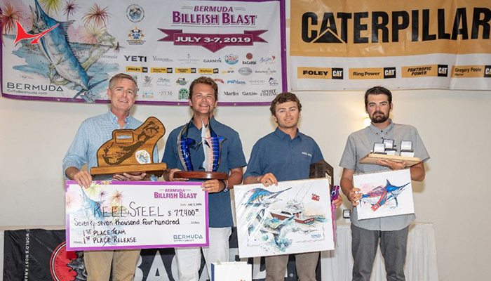 "2019 Bermuda Billfish Blast Winner - Congratulations Team ""Reel Steel"""