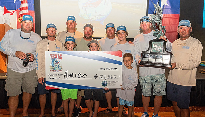2019 Texas Billfish Classic Final Results