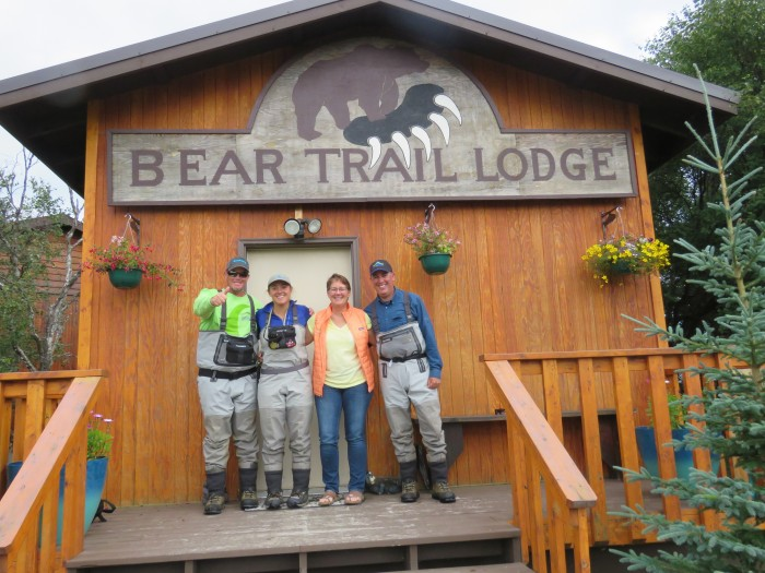 Something Different: Fly Fishing the Alaskan Bear Trail