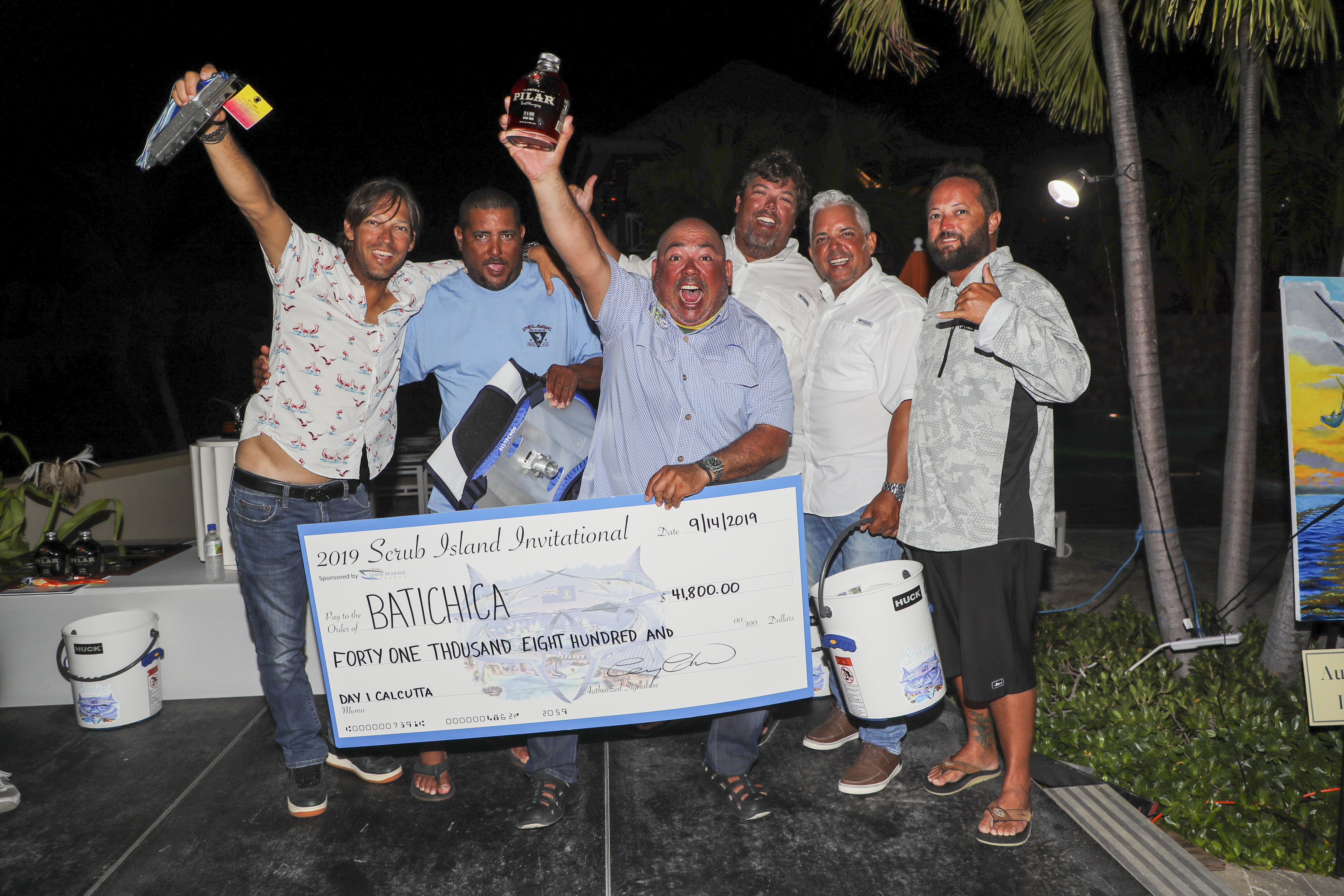 Batichica is a sportfishing team from Puerto Rico