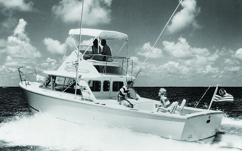 Bertram 31- one of the first for the boat builder