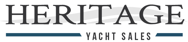 advertising banner for Heritage Yacht Sales