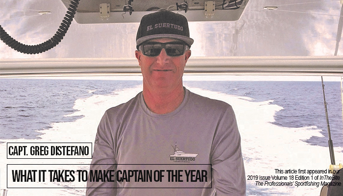 Capt. Greg DiStefano: What it Takes to Make Captain of the Year