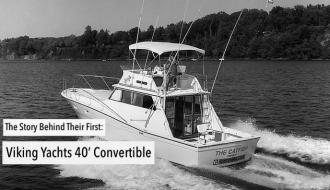 The Story Behind Their First: Viking Yachts 40' Convertible
