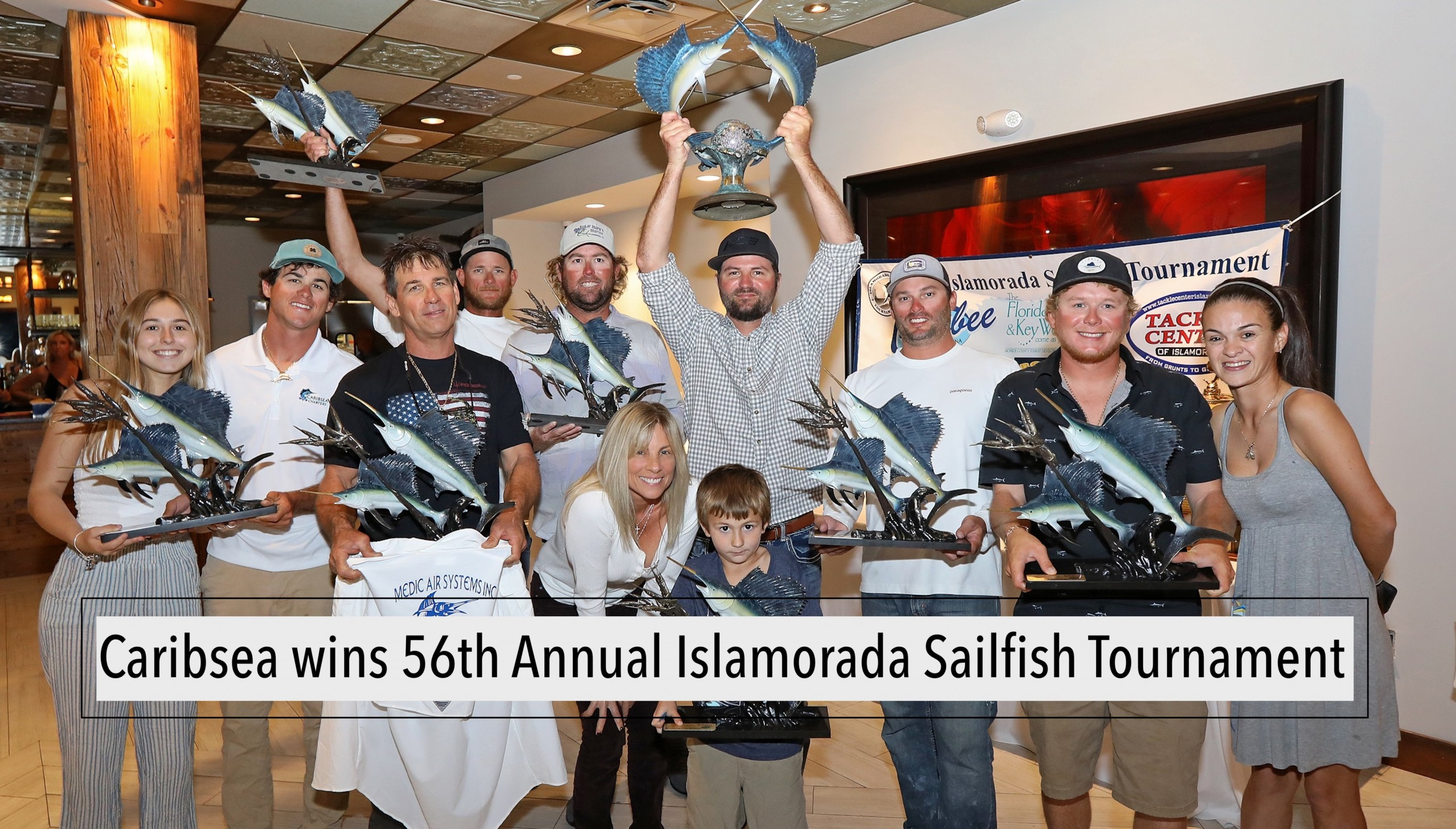 Caribsea wins 56th Annual Islamorada Sailfish Tournament