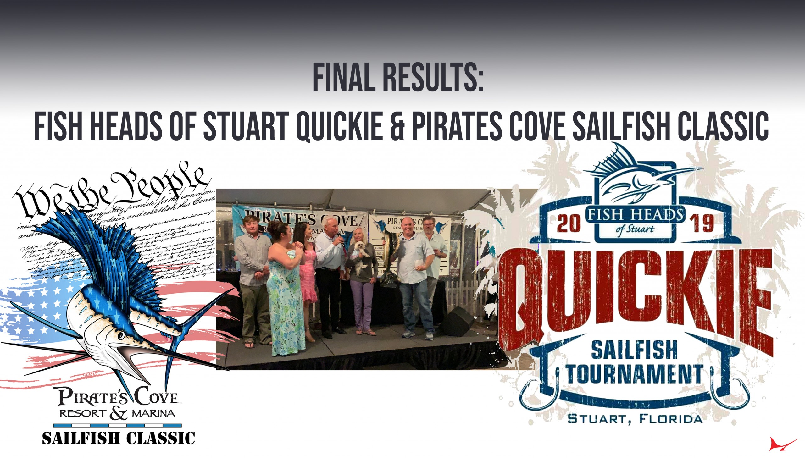 Final Results: Fish Heads of Stuart Quickie & Pirates Cove Sailfish Classic