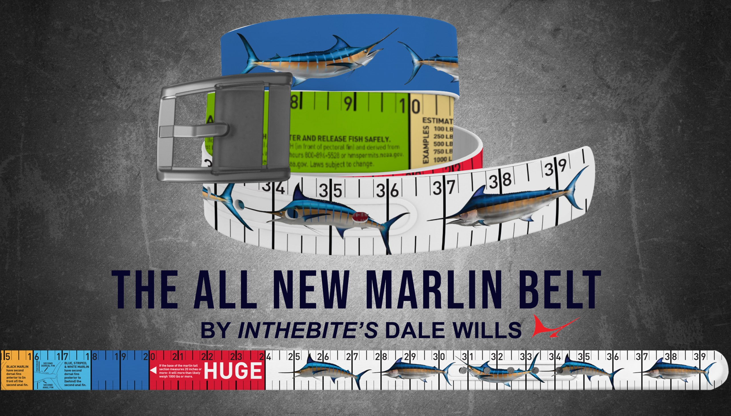Marlin Belts By Dale Wills Now Available