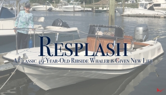 A Classic 49-Year-Old Ribside Whaler is Given New Life