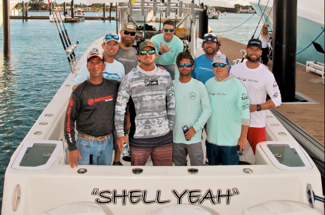 Shell Yeah Fishing team photo