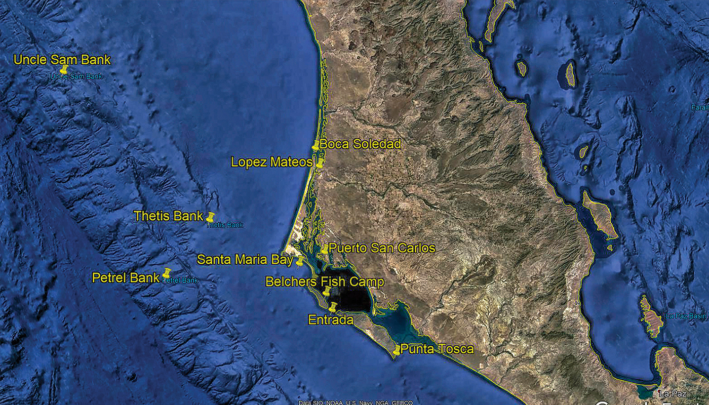 mag bay map of sea bottom
