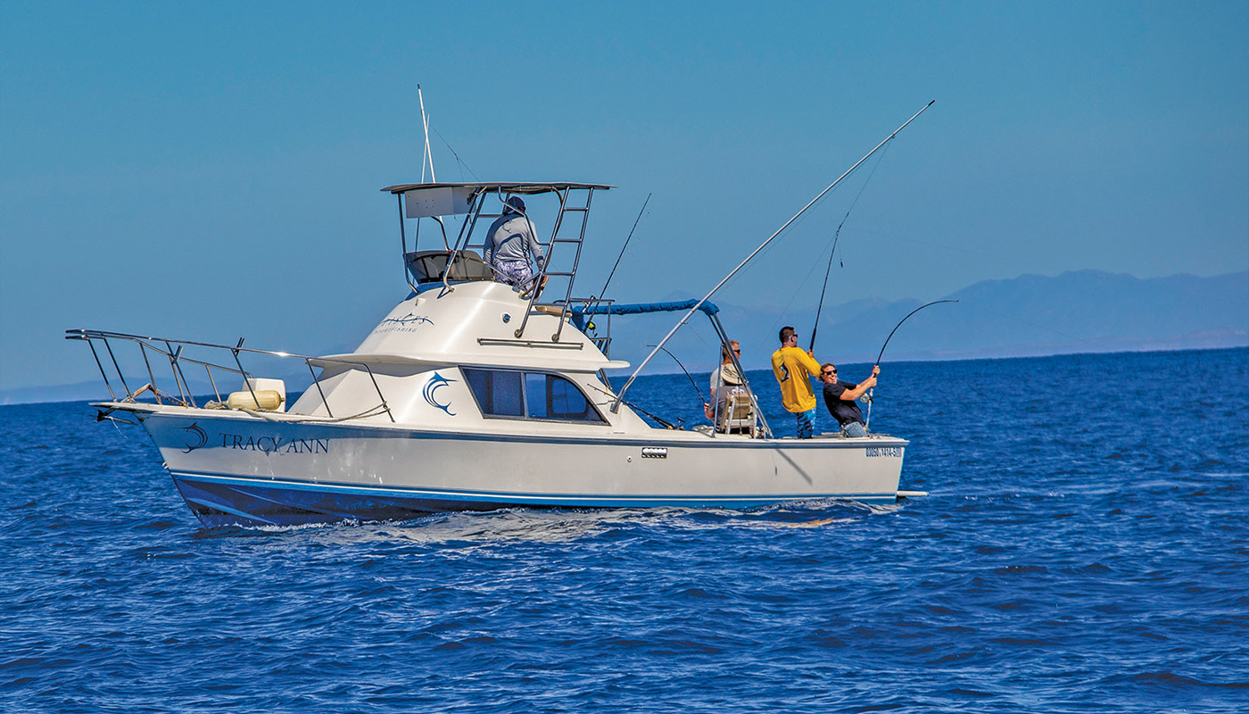 Pisces Sportfishing putting clients on multiple hookups