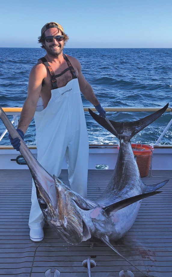 How to catch swordfish in the United States