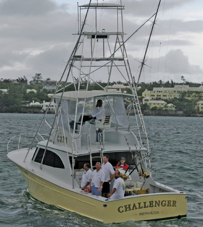 Picture of Challenger Sportfish Boat in Bermuda