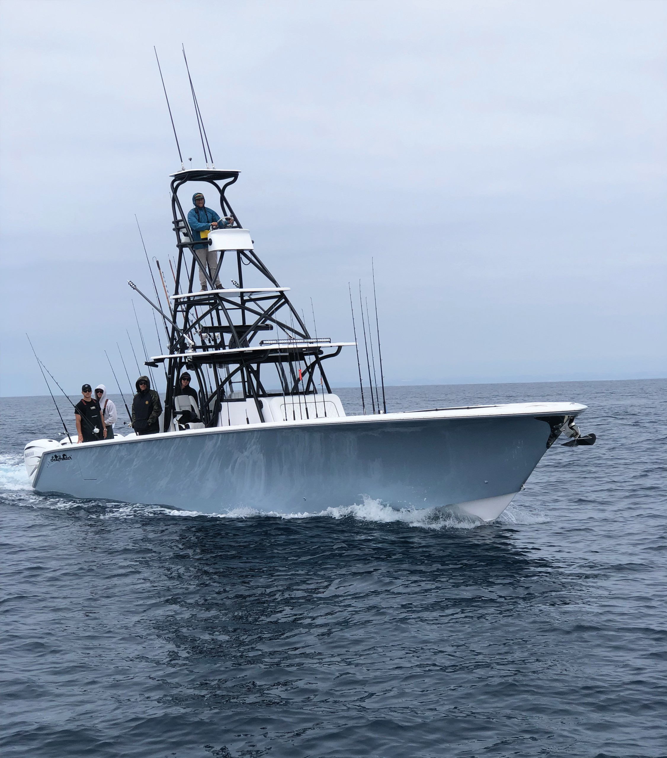Fishing with Captain Evan Salvay on Stella June