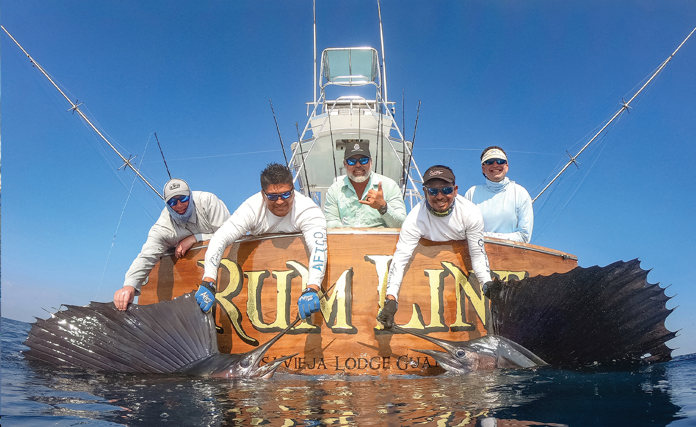 Fishing with Captain Chris Sheeder on Rum Line