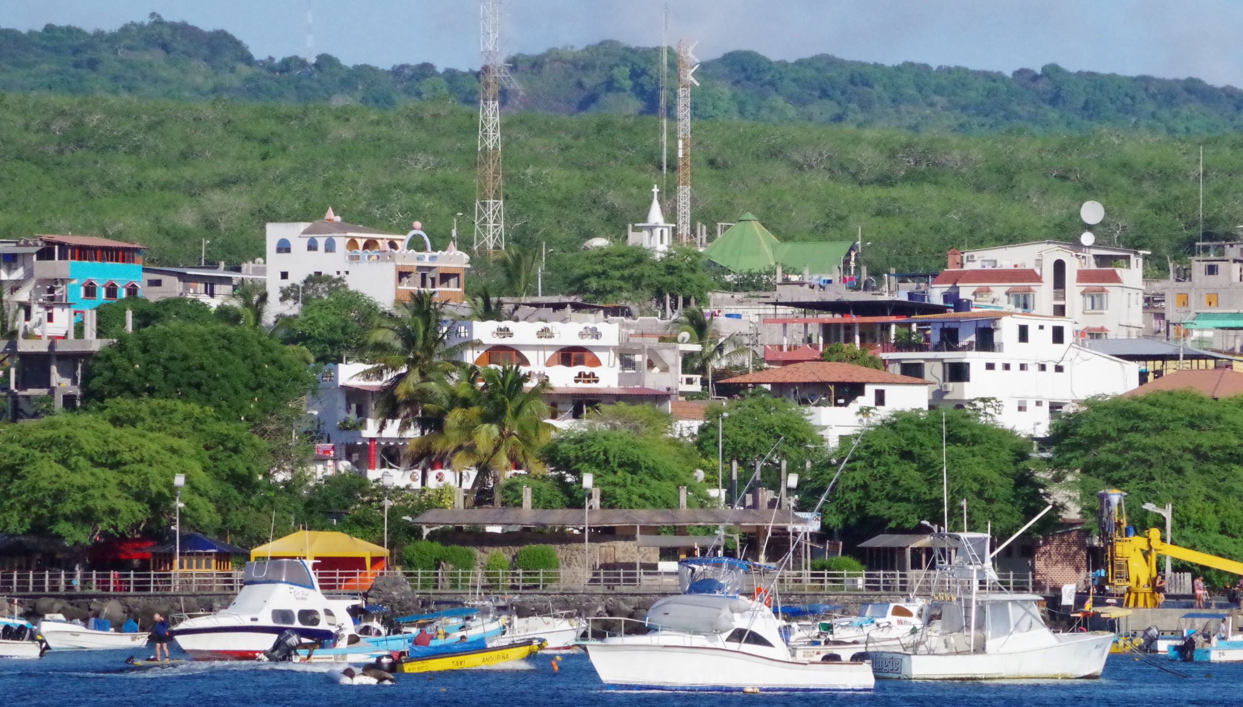 San Cristobal harbor