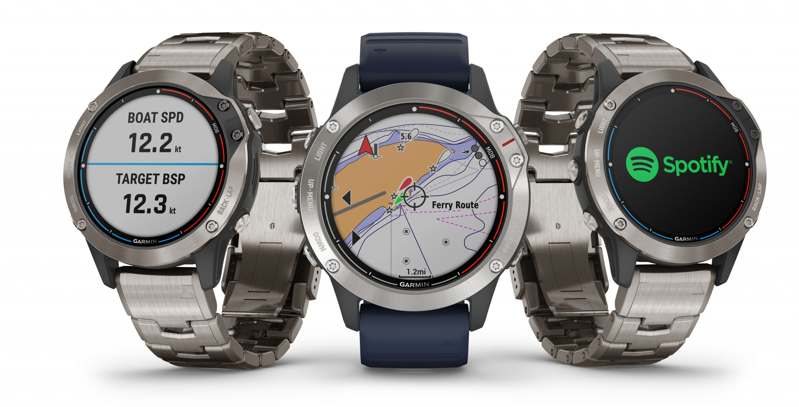 Garmin introduces quatix 6 Marine GPS Smartwatch