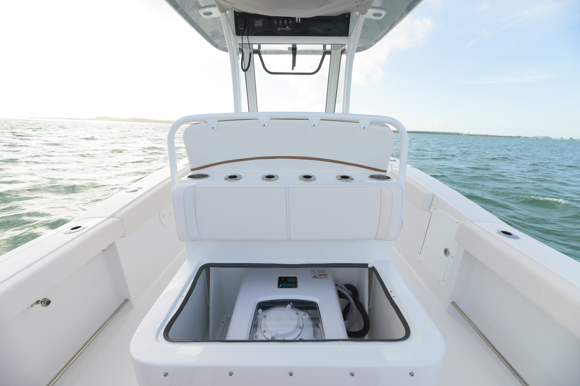 Seakeeper in a center console boat