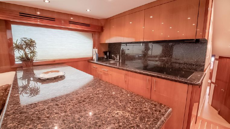 galley of 60 hatteras
